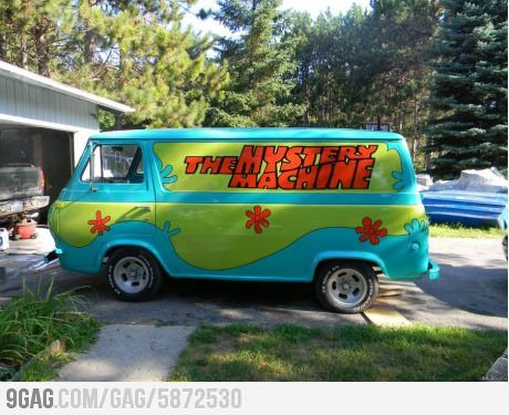 The mystery machine lol pinterest camionnette - Scooby doo voiture ...