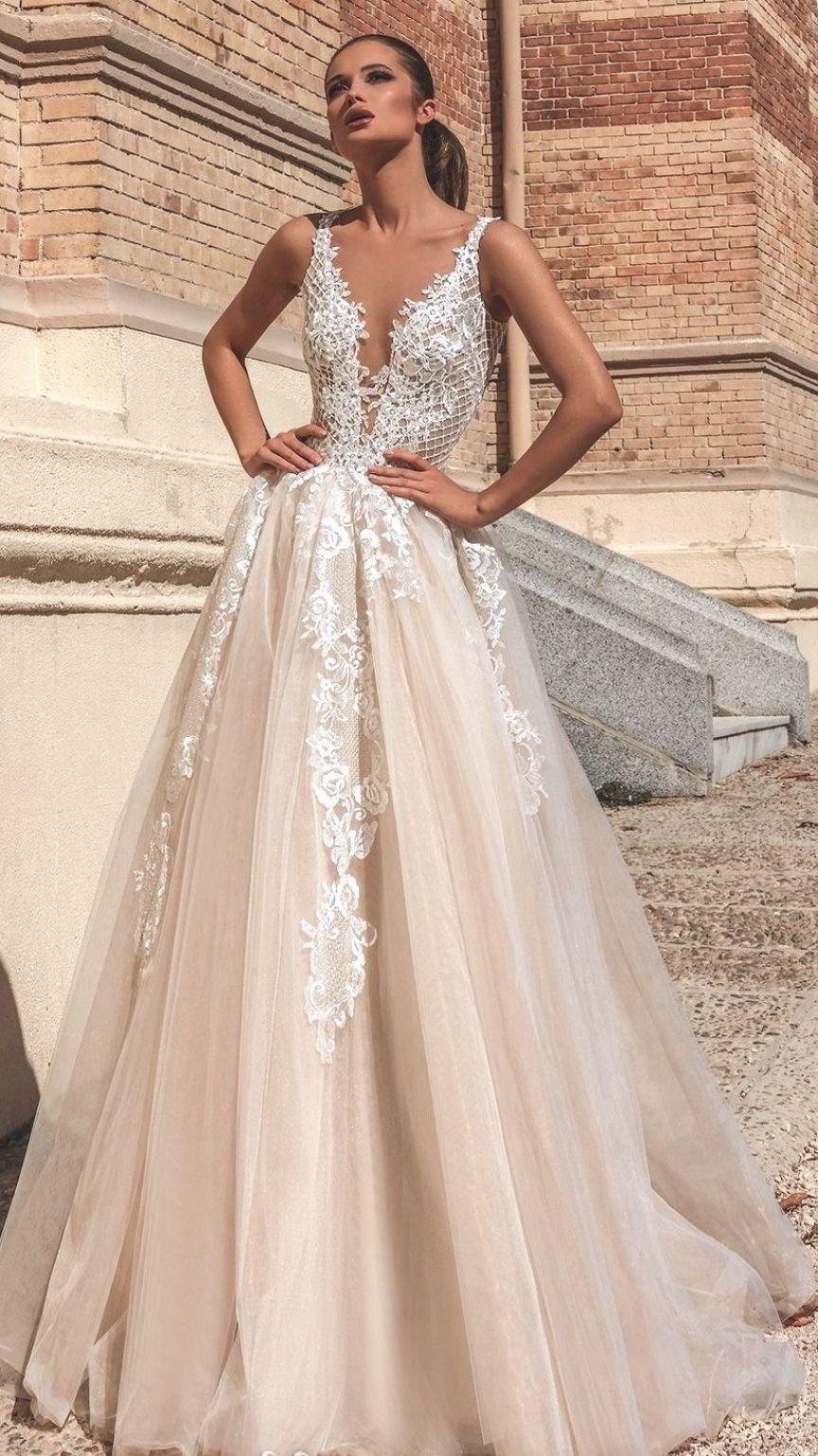 16++ Champagne wedding dress information