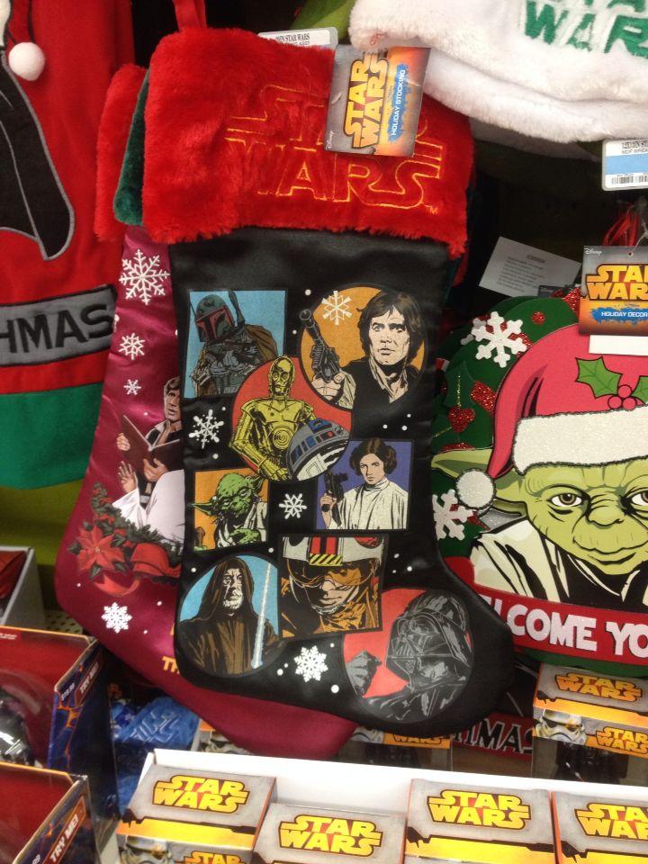 Star Wars Christmas stocking at Kmart | Christmas 2014 | Pinterest