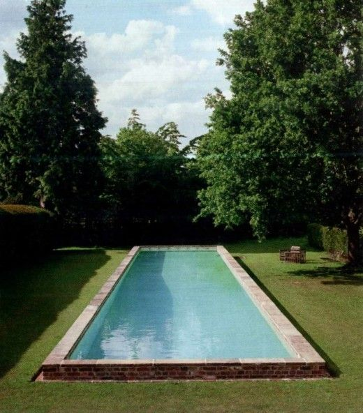 European Style Pool pools Pinterest European style, Gardens - pool fur garten oval