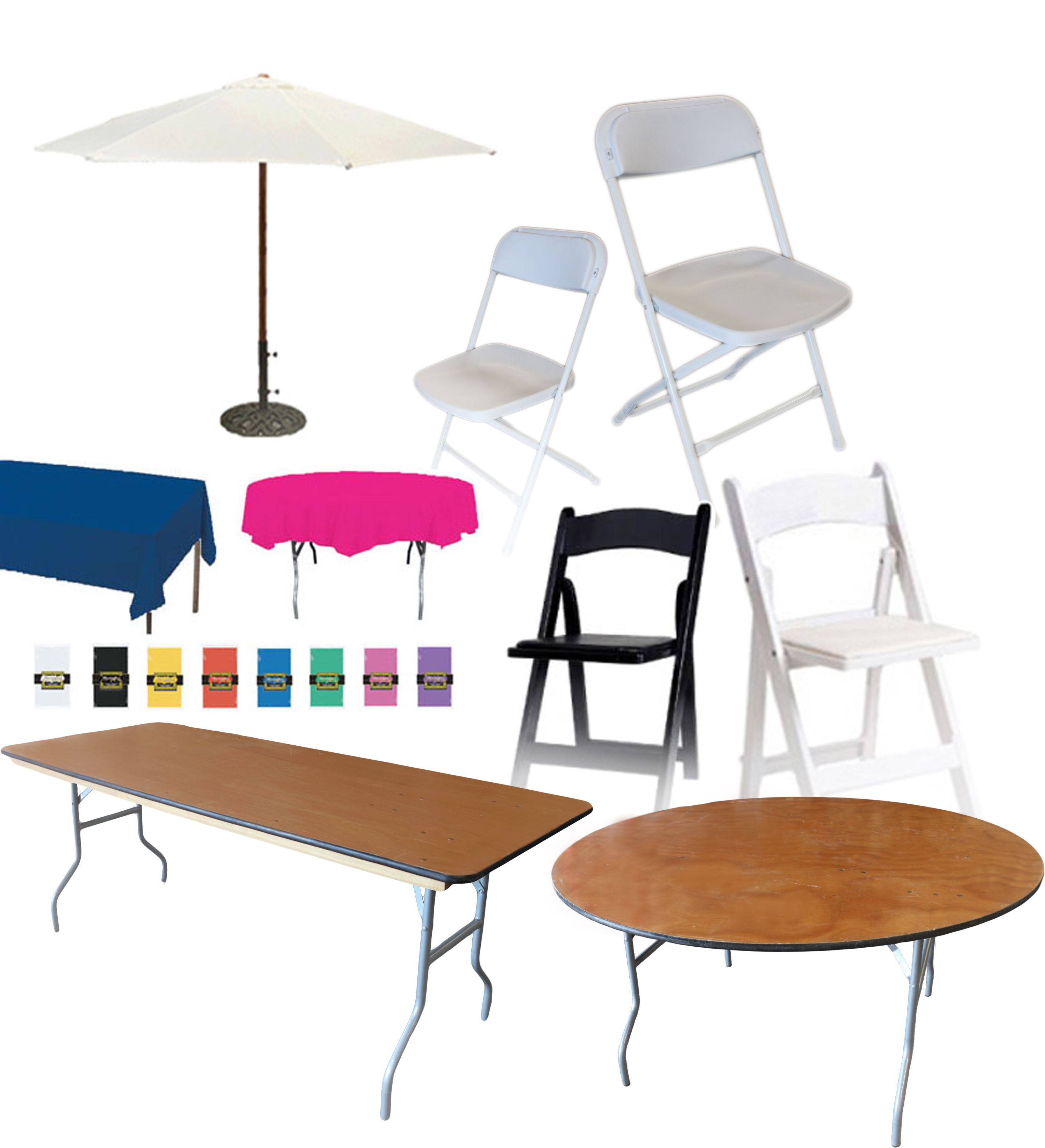 Where Can I Rent Tables And Chairs Table Chair Tents Umbrellas Linen Rentals Call 800 873 8989 To