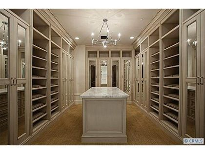 California Closets Built Ins With Island Horizon Terrace Dream Room Master Retreat Closet Luxury Closet California Closets Closet Remodel