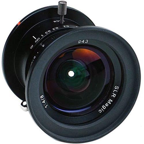 Slr Magic 8mm F 4 Lens Ultra Wide Angle Lens Camera Rig Slr