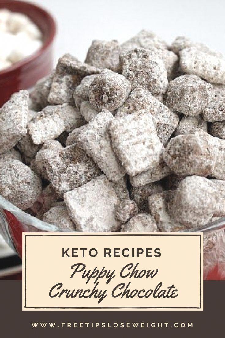 Low Carb Keto Muddy Buddies Aka Puppy Chow Recipe Keto