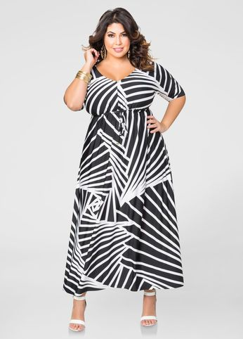 2234bb7a251 Plus Size Dresses In Sizes 12 to 36. Drawstring Waist Maxi Dress Drawstring  Waist Maxi Dress