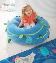 Vak na sedenie Vtáčatká - Detské vaky a vankúše - Detská izba - Hračky a Detský nábytok- Detský Sen - Maxus