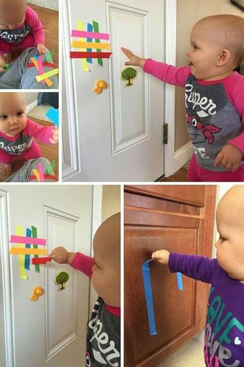Activite Bebe 1 An Montessori : activite, montessori, Activities, Activite, Bebe,, Nourrisson,, Développement, Sensoriel, Bébé