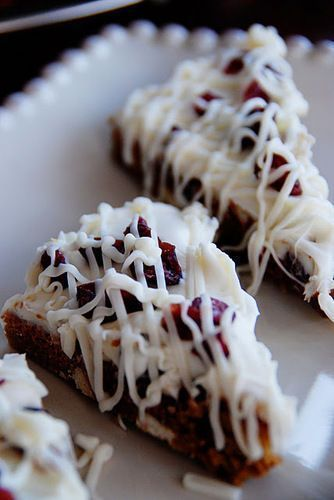 11 Scrumptious  Festive Christmas Desserts Cranberry bliss bars