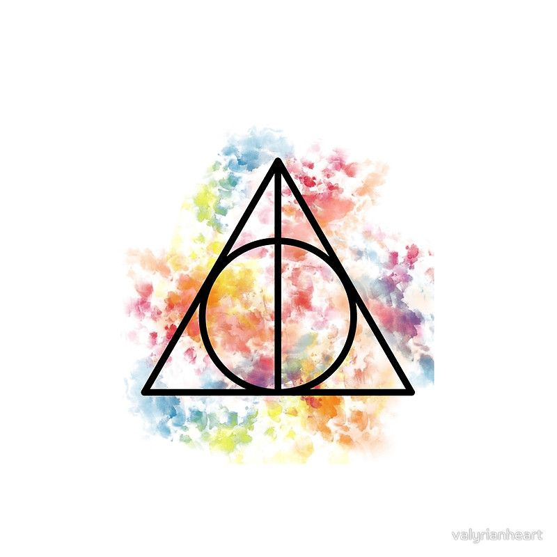 harry potter deathly hallows symbol movie room posters