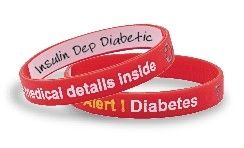 Go To Rite Aid To Buy Your Diabetes Write On Mediband Bracelet For