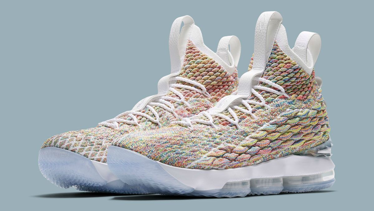 1b781cc75df An Official Look at  Fruity Pebbles  LeBron 15s