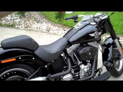 ▶ 12-07-11 - Harley Fat Boy Special First Ride - YouTube