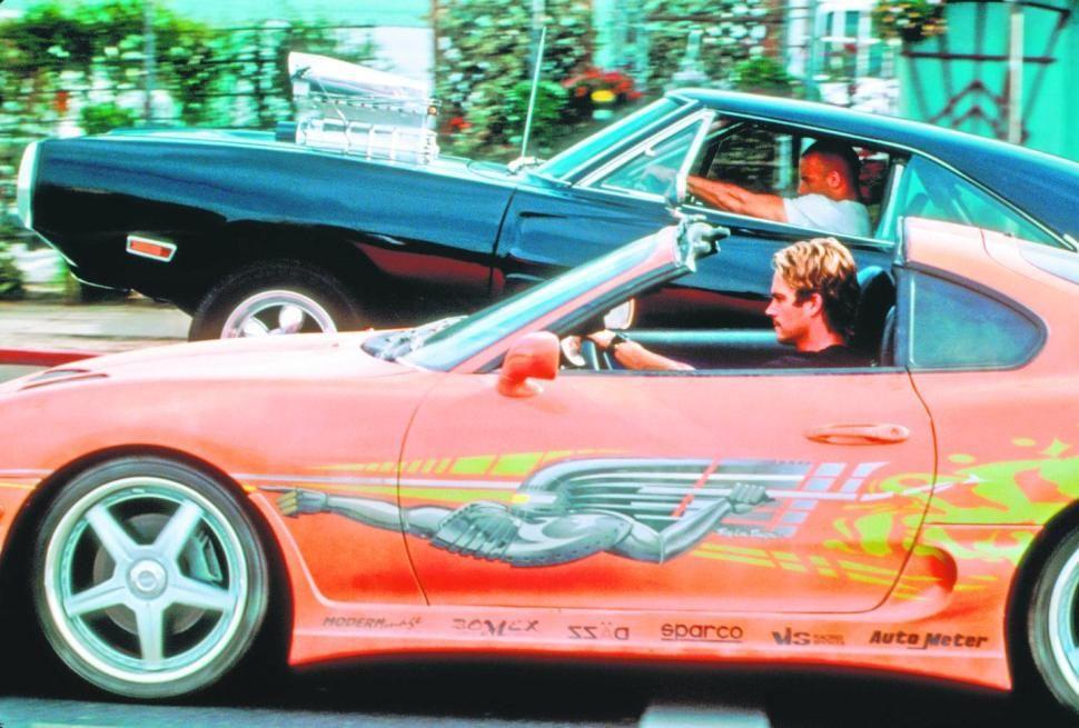 Vin Diesel And Paul Walker Cars