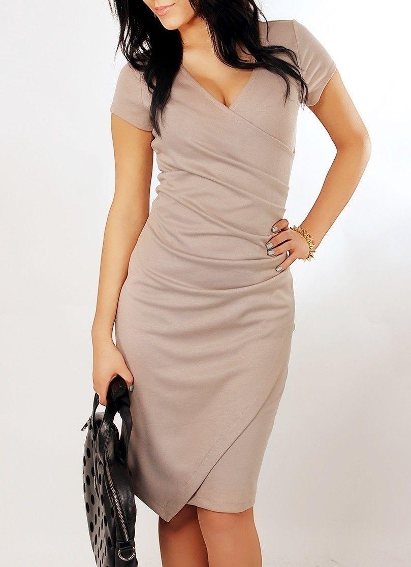 Elegantes Kleid Etuikleid Abendkleid Bleistiftkleid Cocktailkleid ...