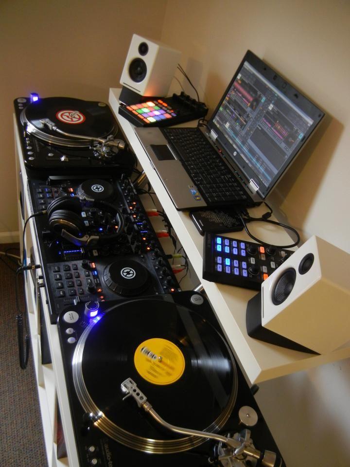 Dj Equipment, Dj Setup, Home Studio Music