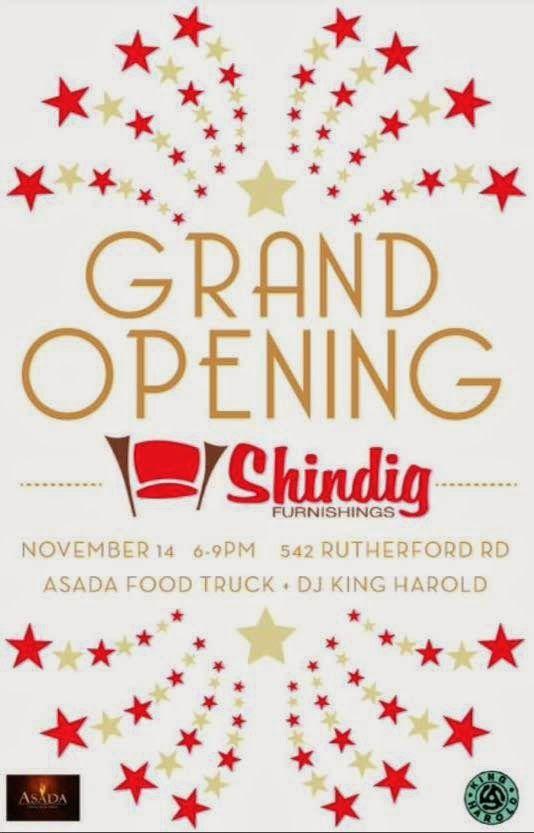 Shindig Furnishings Grand Opening Midcentury Modern Furniture