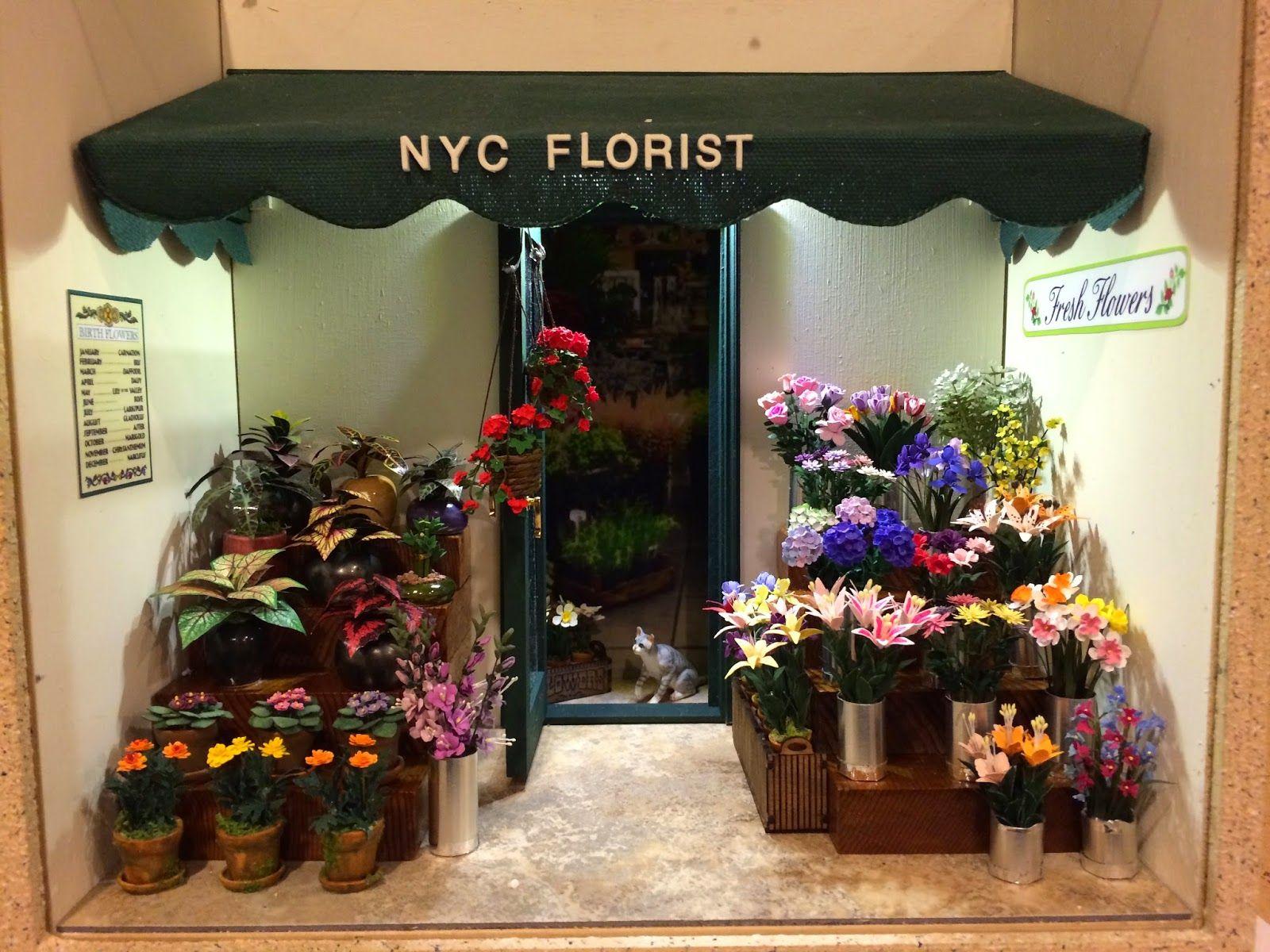 Arlene Finkelstein's New York City Florist Shop (With