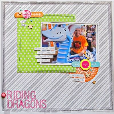 Christy Strickler | Riding Dragons - Community Layouts - Gallery - Get It Scrapped