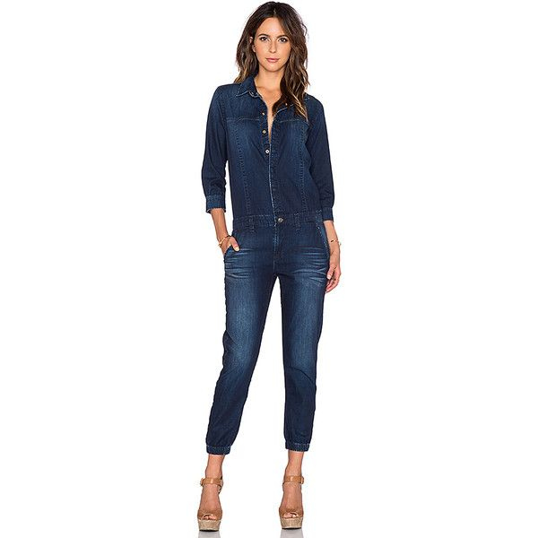 0025e2b1612e Hudson Jeans Ryder Jumpsuit Jumpsuits ( 285) ❤ liked on Polyvore featuring  jumpsuits