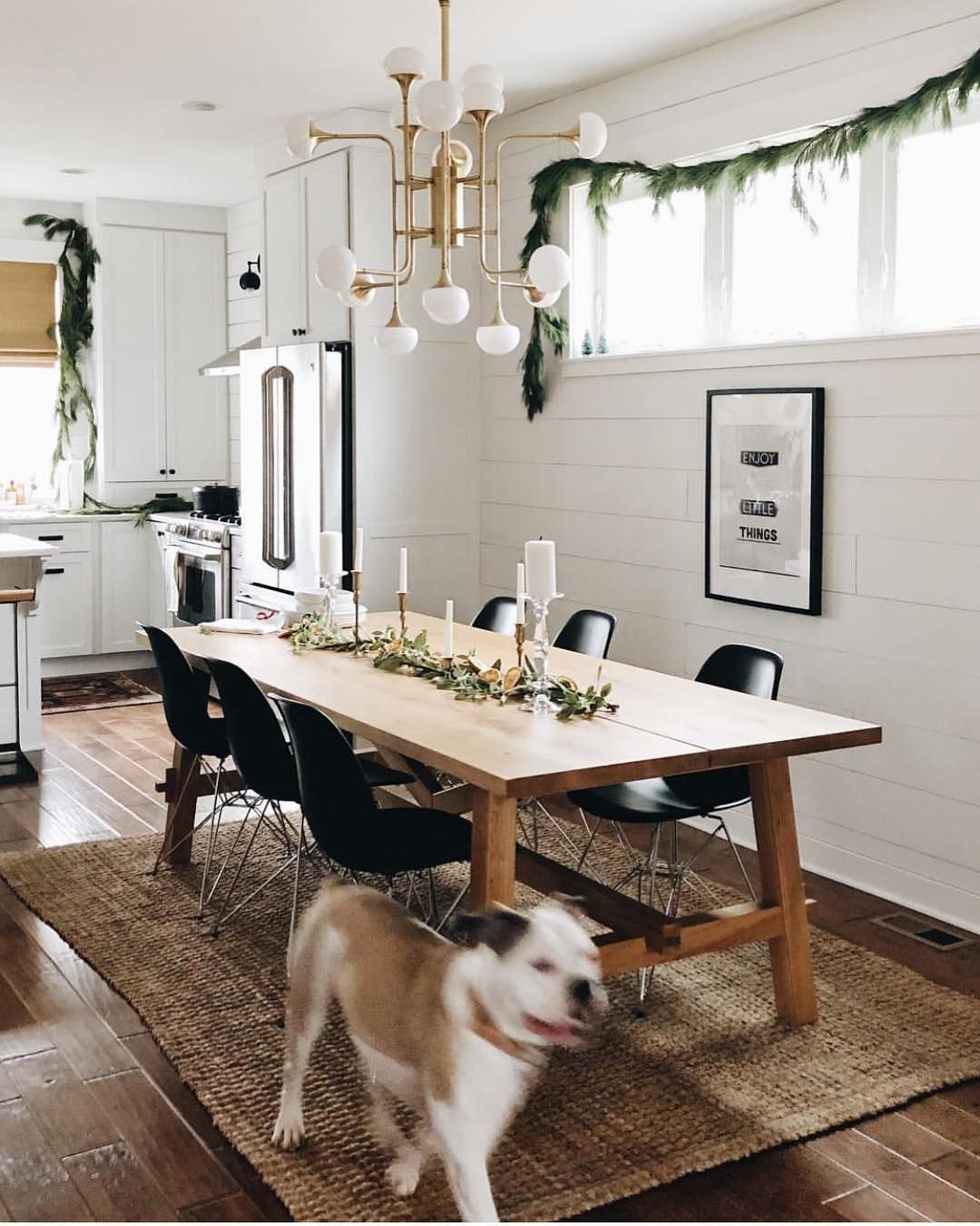 "32 More Stunning Scandinavian Dining Rooms: Mid Century•Boho•Scandinavian On Instagram: """"Own Less"