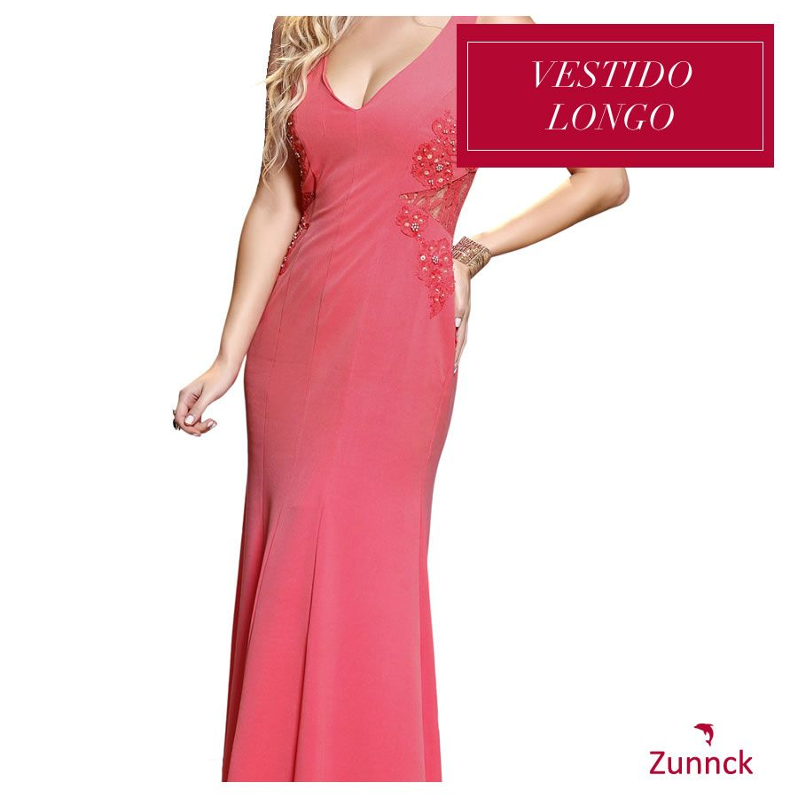 Lindo Vestido Longo Zunnck! *-*