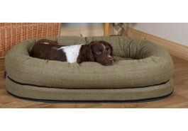 Premier Tweed Snuggle Dog Bed with Memory Foam. Ideas-4-pets