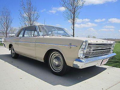 1966 Ford Custom 500 2 Door Sedan 289 C I V8 3 Speed Galaxie