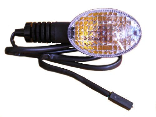 Look For Low Price 2008-2012 Kawasaki Ninja 250 EX250 Left Front Turn Signal 23037-0115 Genuine OEM Indicator Blinker Light