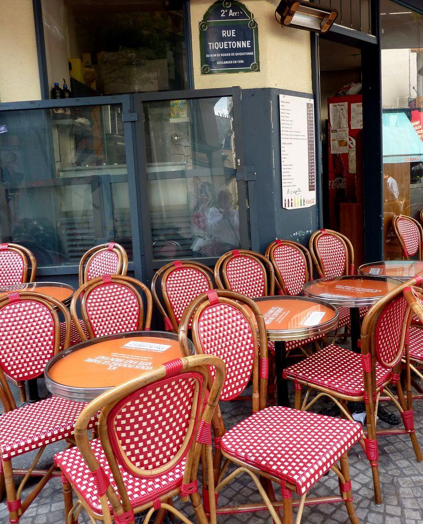 Paris Sidewalk Onlooking Paris Cafe French Colors Paris Dream