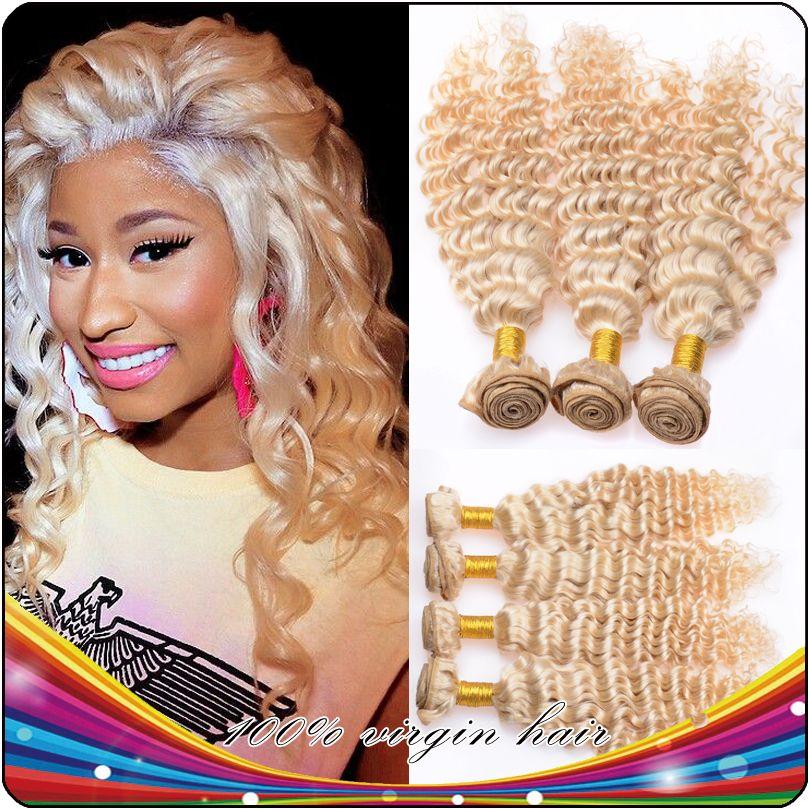 Love Nicki Minaj Hair Style Honey Blonde Deep Curly Hair Hair