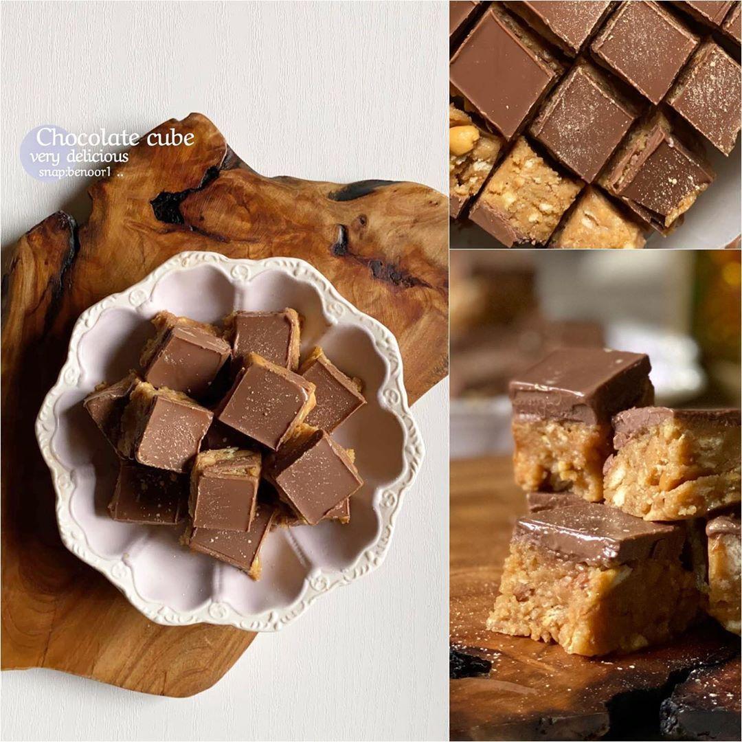 فدج الشوكولاتة بزبدة الفول السوداني مطبخ سيدتي Recipe Guilt Free Dessert Recipes Desserts Dessert Recipes