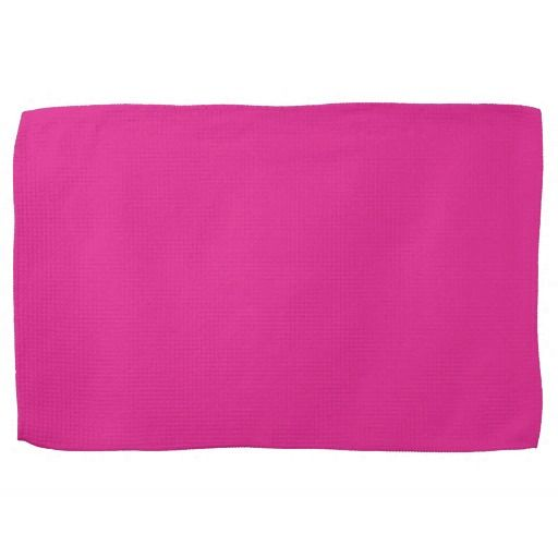 Barbie Pink Background Hand Towels