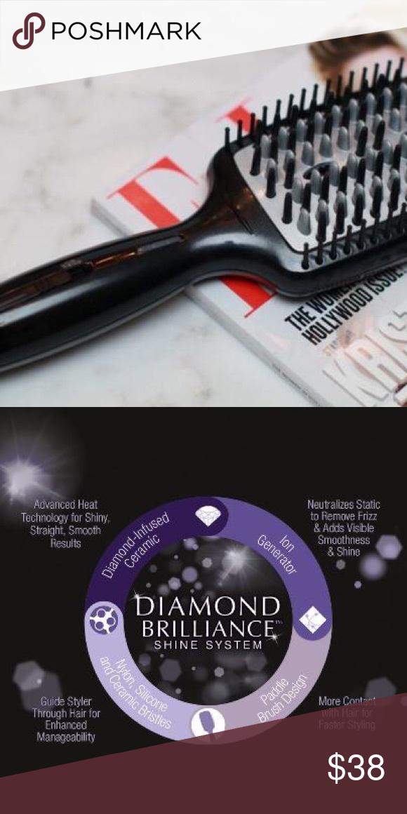 Conair Diamond Infused Ceramic Smoothing Hot Brush Conair Ceramics Infused