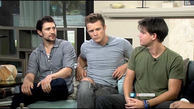 Matt Dallas, Charlie Bewley & Steven Grahym talk www.ThunderRoadFilm.com on KTXDTV