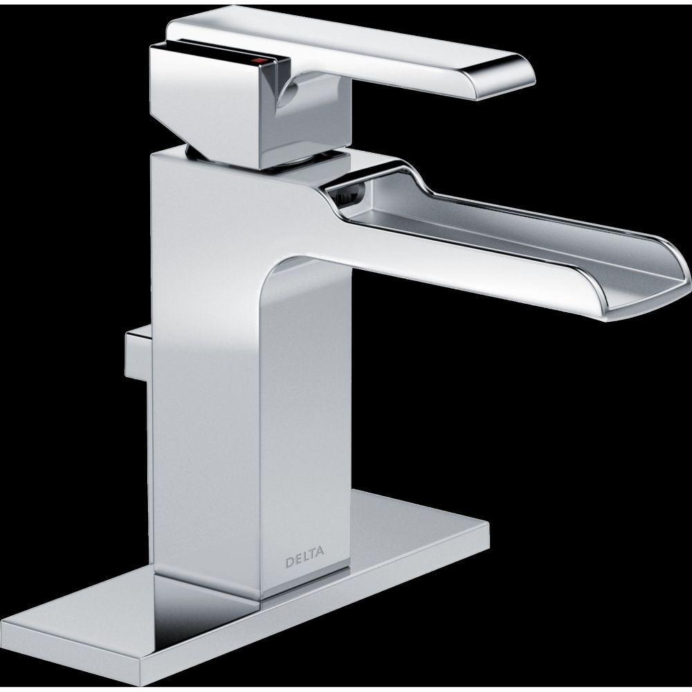 Delta Faucet 568Lfmpu Ara Single Handle Singlehole Channel Spout New Delta Single Hole Bathroom Faucet Decorating Inspiration