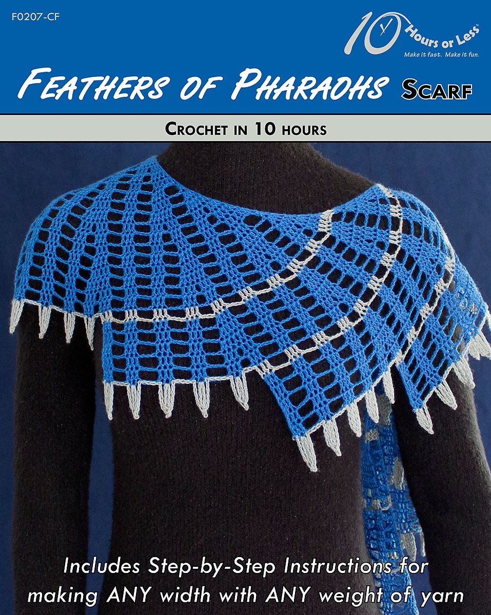 FEATHERS OF PHARAOHS Scarf