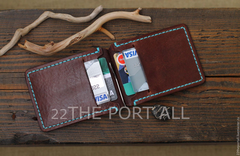 324ead4bfe93 Купить Зажим для денег кожаный, зажим из кожи, зажим для купюр. -  коричневый, зажим для денег