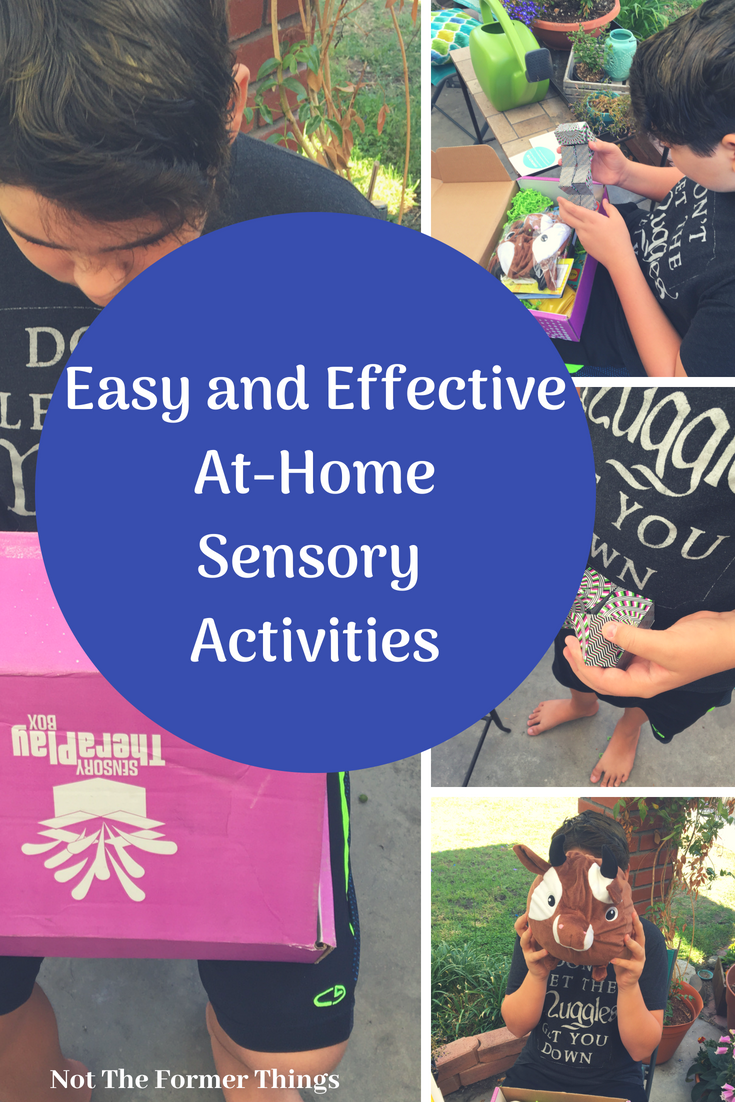 Easy And Effective At-Home Sensory Activities | Not The