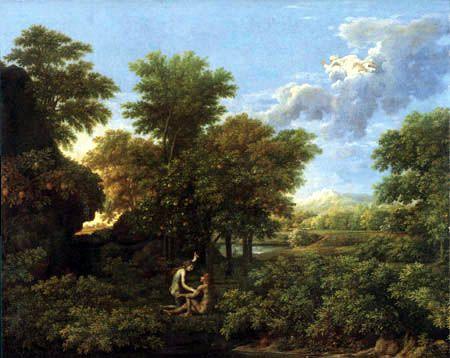 63 Adam et Eve - Nicolas Poussin - Bible -1662 - religieux | Peinture renaissance, Poussins, Les ...