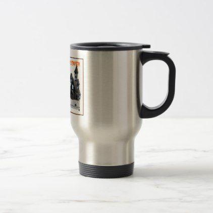 English Cocker Spaniel Travel Mug - halloween decor diy cyo