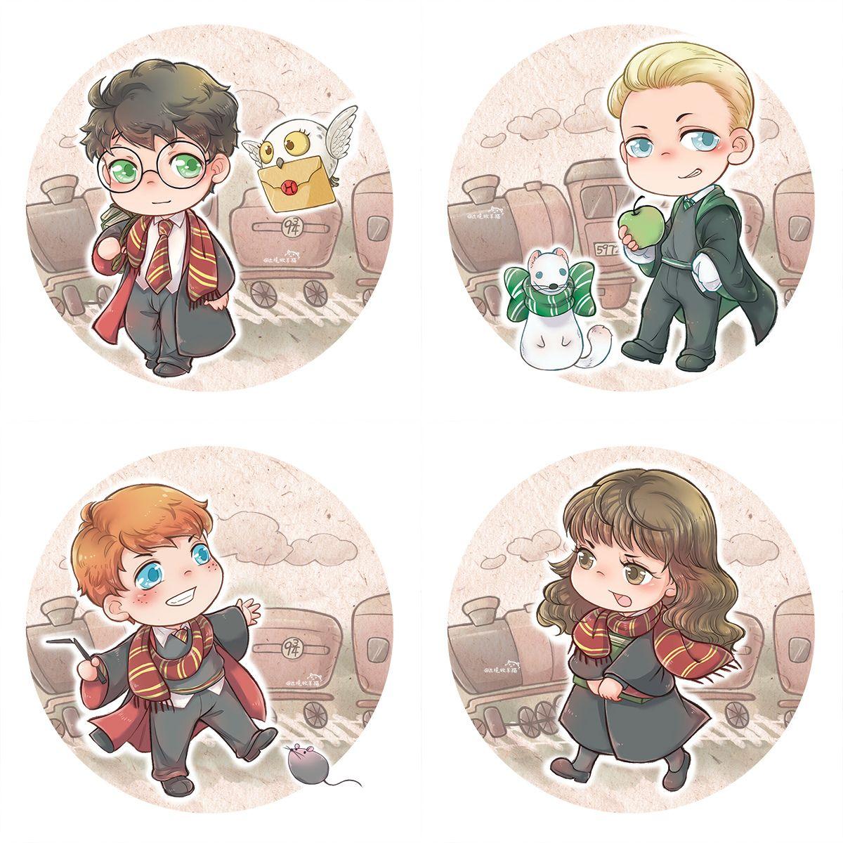 Гарри, Драко, Рон, Гермиона (с изображениями) | Гермиона ...
