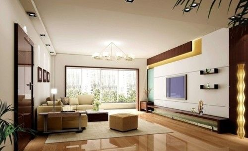 Salas Modernas Tv Centros Entretenimiento  Arch& Design Fair Best Arch Designs Living Room 2018