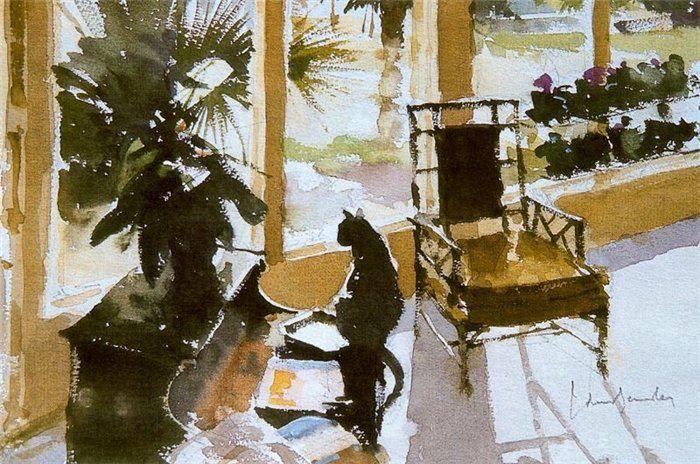 Картинки по запросу john yardley watercolour