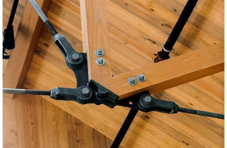 Tie Rod Truss System Details Timber Architecture
