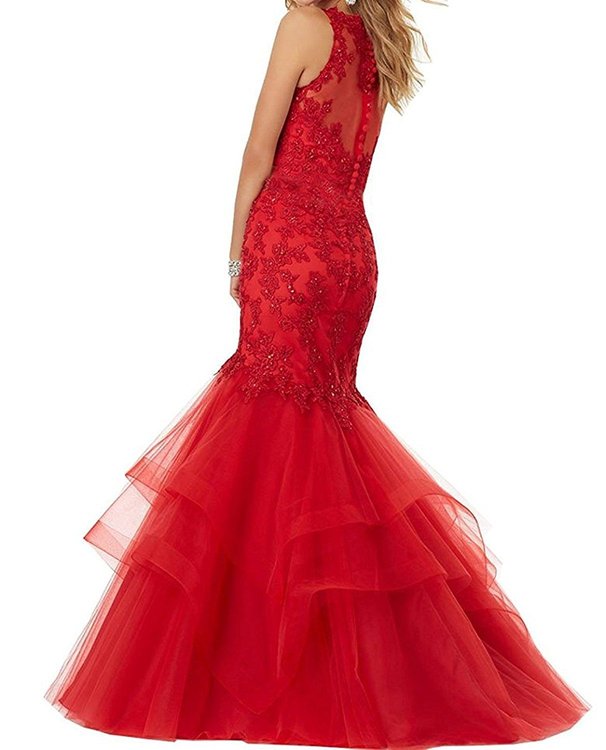 Bonnieshop bonnie beaded lace embroidered prom dresses long mermaid