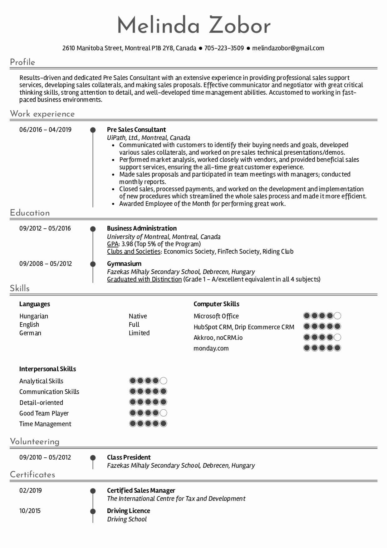 Management Consulting Resume Examples New Resume Examples By Real People Pre Sales Consultant Resume S Resume Examples Job Resume Examples Good Resume Examples