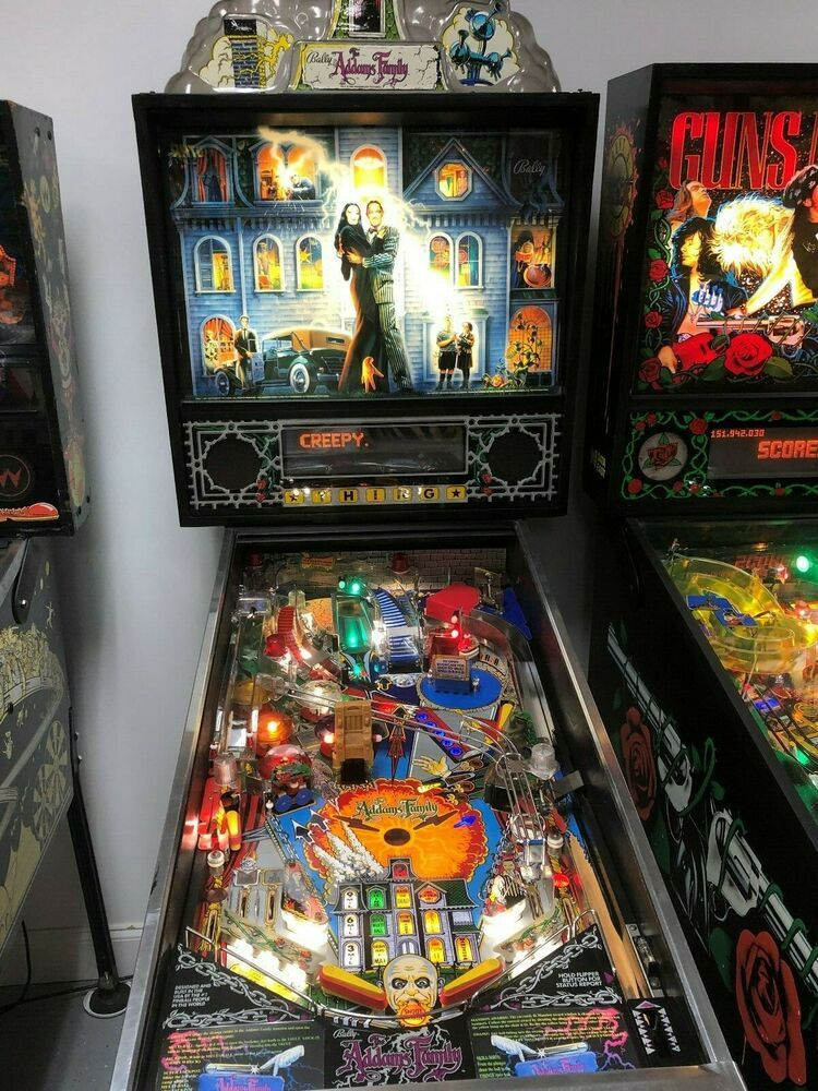 eBay #Sponsored Addams Family Pinball Machine Bally Coin Op