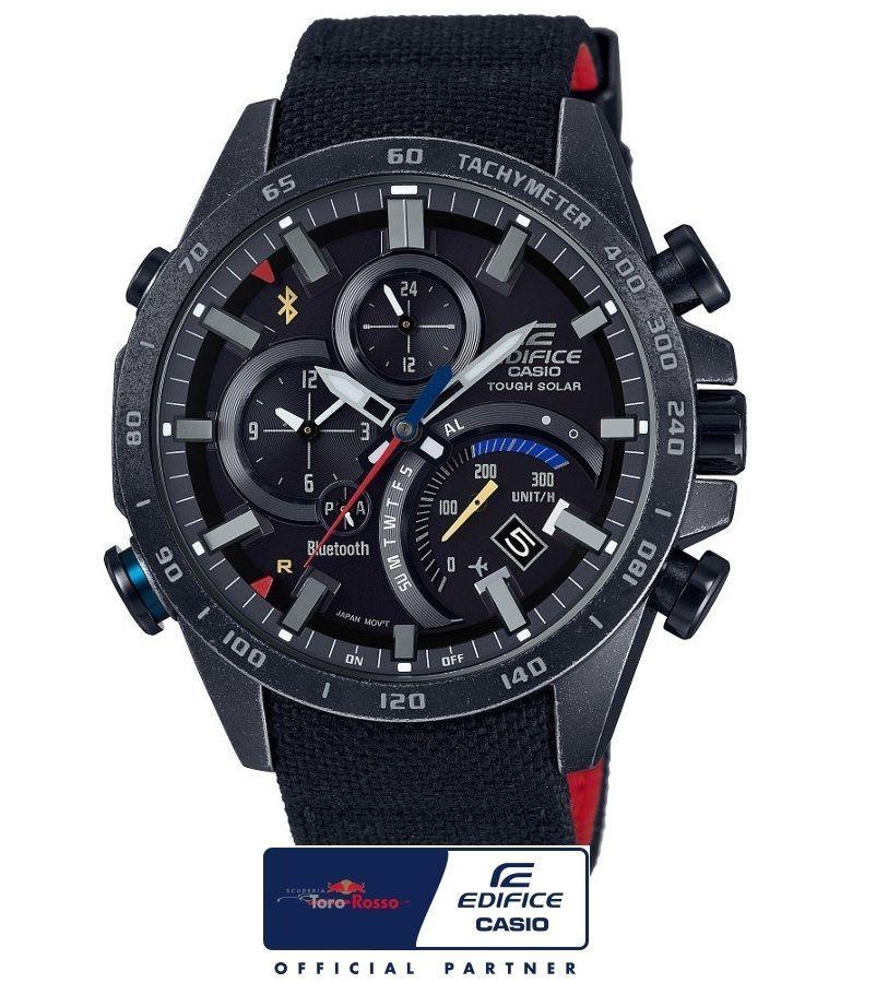 0975d463b0f2 Casio Edifice Scuderia Toro Rosso Con Bluetooth Eqb-501trc-1aer Relojes  Deportivos Hombre