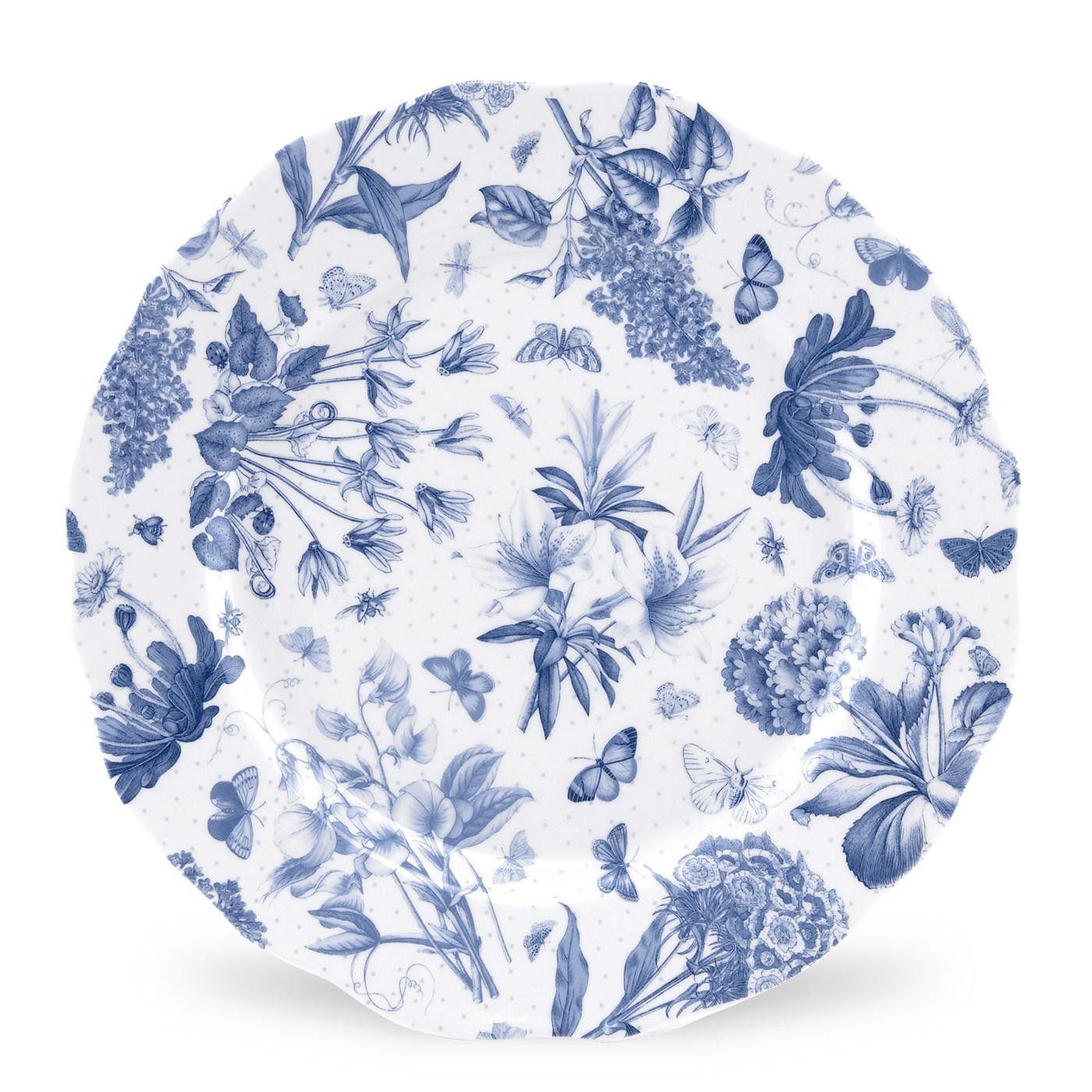 Portmeirion Botanic Blue 10 75 Inch Dinner Plate Set Of 4