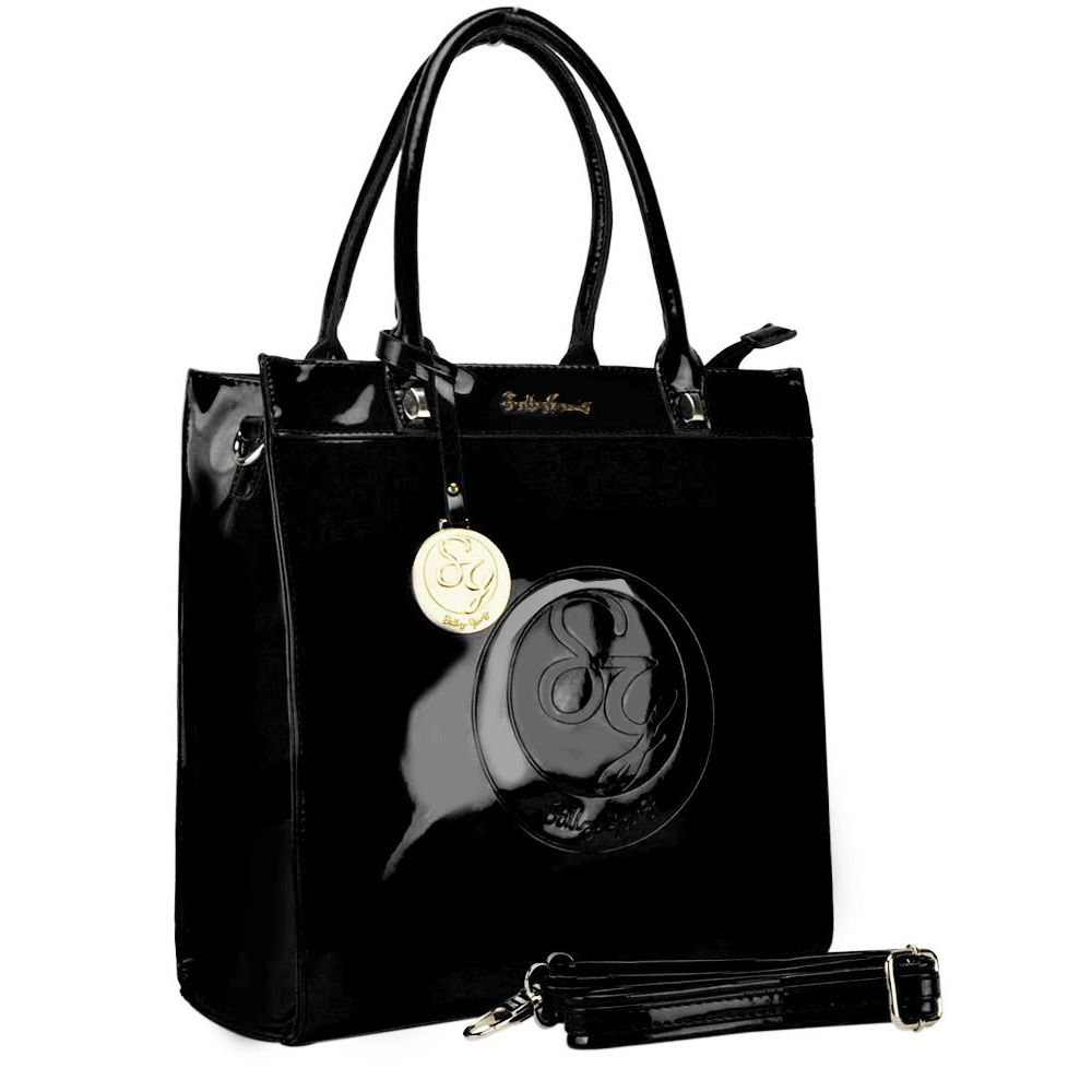 SALLY YOUNG TOTE - Black Now only £28.00 was £35.99